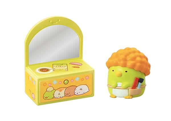 史上最萌的美容院開張中♡《角落生物盒玩》療癒度UP UP!炸蝦尾巴竟是髮型的一部分?!