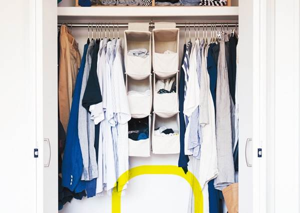 用這5大Tips整理就對了!衣櫃的「最佳收納配置」帶你一圖秒懂,所有衣服&配件方便拿又好收!