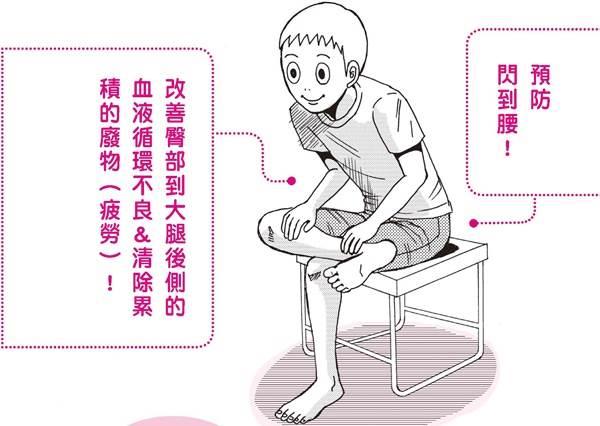 久坐害你屁股痠麻硬梆梆?定時做個「翹腳伸展操」幫肌肉馬殺雞,3步驟連腳尖都暖呼呼!