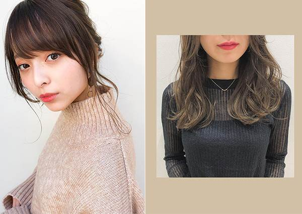 髮尾往外翹更加分!櫻花妹都在學的3種「修容髮型」超EASY,想要小臉效果不用遮住整張臉~