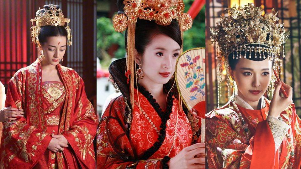 姊就是能完美駕馭大紅色!8女星《古裝新娘服大PK》,又美又霸氣連女生都會戀愛~