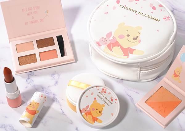 這次又是心甘情願被搶荷包了!首推台灣迪士尼限定款彩妝,櫻花眼影盤真的超欠敗!