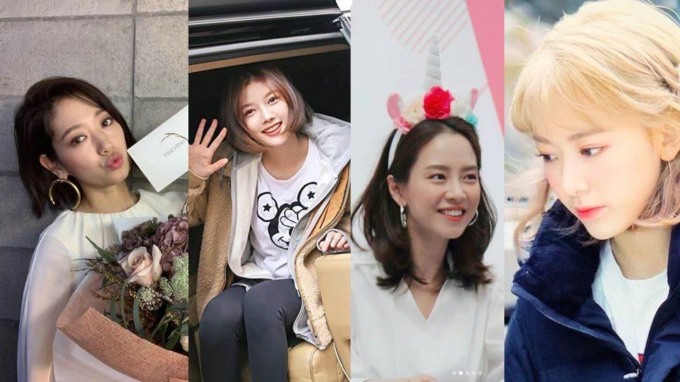 耳下3cm嘟嘟好!這6位女星都在最近加入「短髮」行列,看完一輪絕對會想馬上預約設計師!