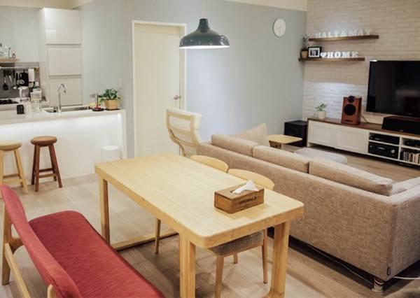 自己的家自己設計!3房1廳25坪老公寓變身溫馨慢活宅,只花90萬就GET