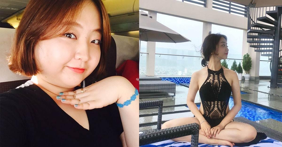 從胖妹變火辣健身教練!韓妞1年甩肉28斤飲食、運動菜單公開