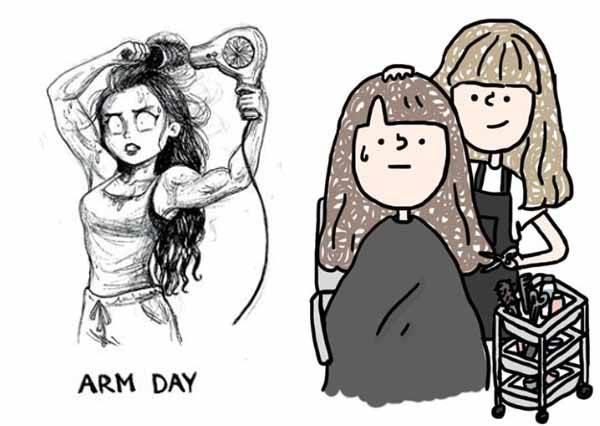 柔柔亮亮閃閃動人是假的!《女生一定懂的頭髮秘密》,直了想燙捲,捲了想燙直是女孩共通的煩惱啊!