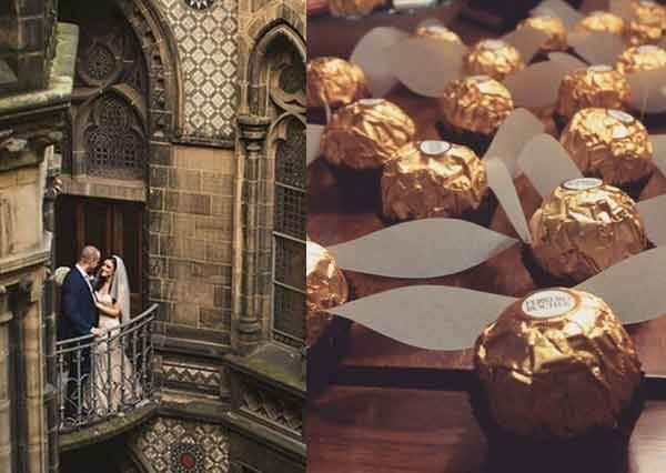 誰來許我場魔法婚禮!哈利波特迷舉辦超浪漫《霍格華茲夢幻婚禮》,這花童是妙麗搭時光機回來了吧