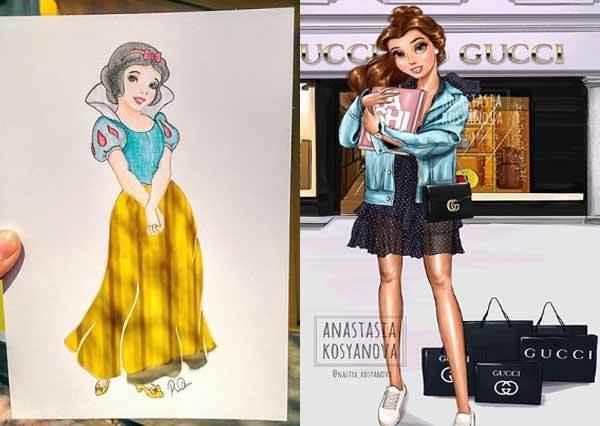 都怪澎裙讓人變老土!迪士尼脫下「公主招牌服裝」愛上香奈兒?大膽偷穿男友衣boyfriend風格大公開