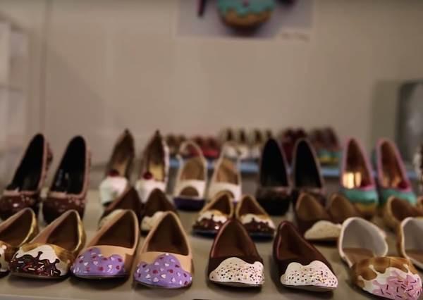 鞋子造型的蛋糕?蛋糕造型的鞋子?逼真到會被螞蟻搬走的夢幻手工鞋!
