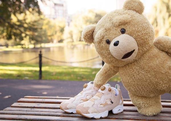 【BAIT x TED 2 x Reebok Fury「Happy Ted」聯名鞋款】最強3方可愛聯名,毛茸茸的好溫暖