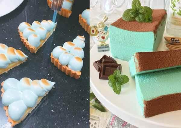 沁入少女心的藍!一系列超夢幻「 Tiffany藍顏色系甜點」,遇見白馬王子都比不上吃一口它幸福!