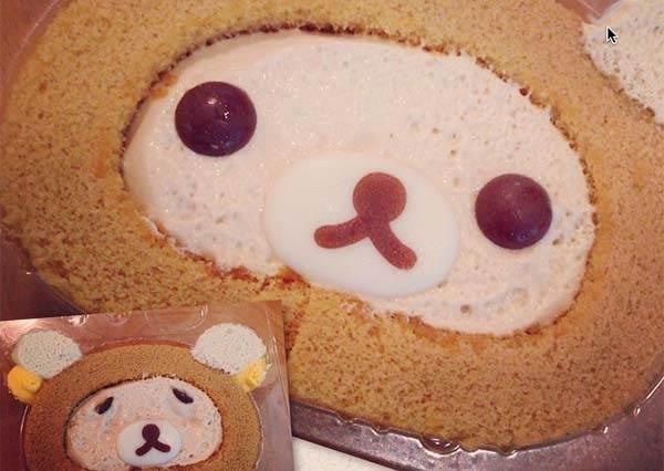 拉拉熊蛋糕竟然也有DIY材料包?要可愛要KUSO自己發揮創造力啊~
