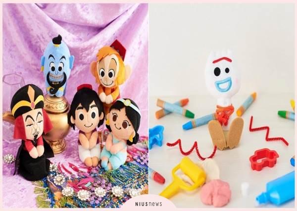 光擺著94可愛♡迪士尼「坐姿娃娃」人氣角色登場,ㄎㄧㄤ到不行的叉奇瞬間萌度大增啊~