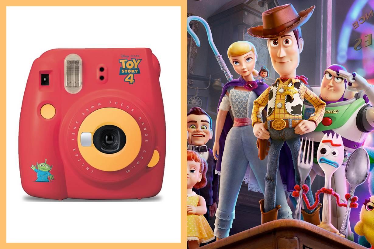 光看到配色&三眼怪就融化♡《玩具總動員》推出聯名拍立得,用這麼Q的相機拍照一定不NG啊~