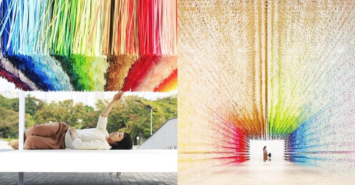走進100種顏色裡❤日本最美《100colors光譜漫遊》來台灣啦!「繽紛亮點+示範照」搶先帶你練拍一波