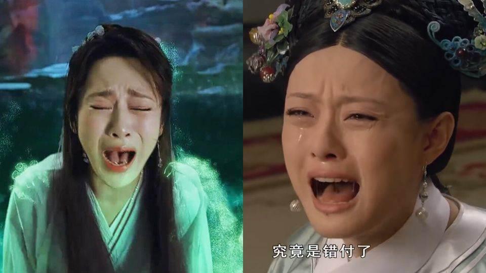 《陳情令》肖戰哭戲帥炸!「10女星經典哭戲場面」,楊冪太美、趙麗穎沒形象,最經典還是孫儷