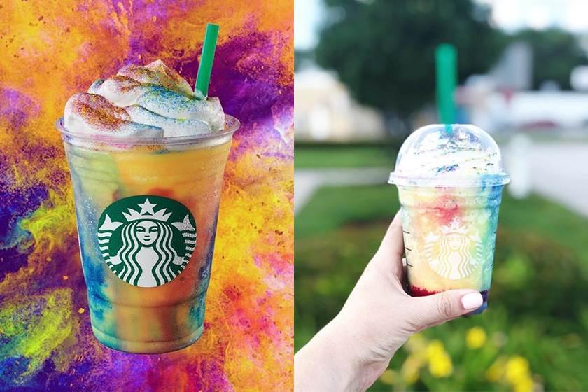 這94夏天的味道!星巴克推出「限定星冰樂」超繽紛,想喝到每一種顏色竟然要靠運氣?!
