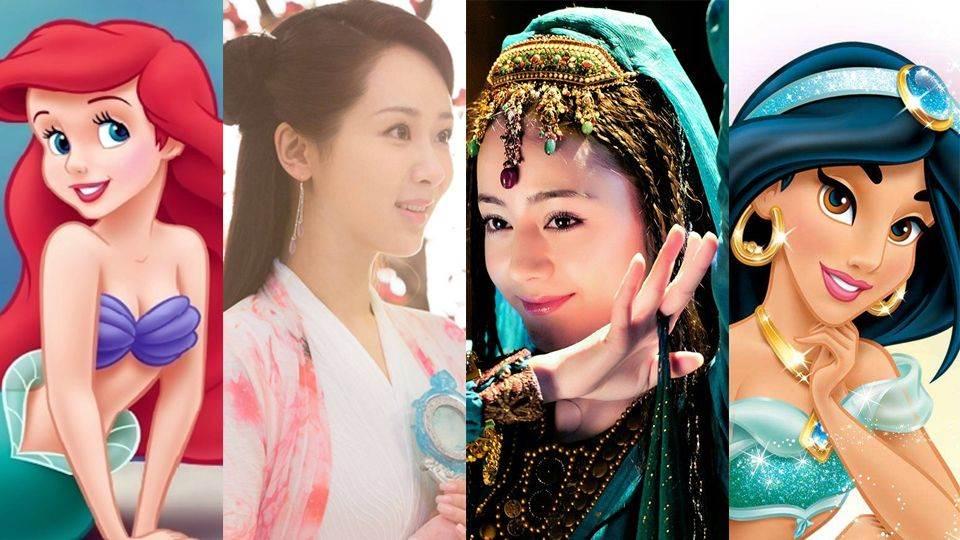熱巴根本茉莉公主本人!網推7位迪士尼公主「亞洲版」:張鈞甯超像這角色的啦~