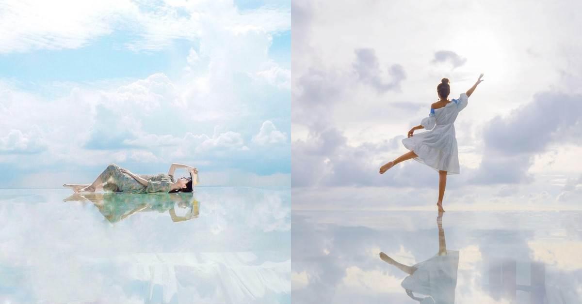最新!台中絕美景點「天空之鏡」在哪裡?IG搜爆的「超夢幻秘境」還能入住印地安帳篷看星星!