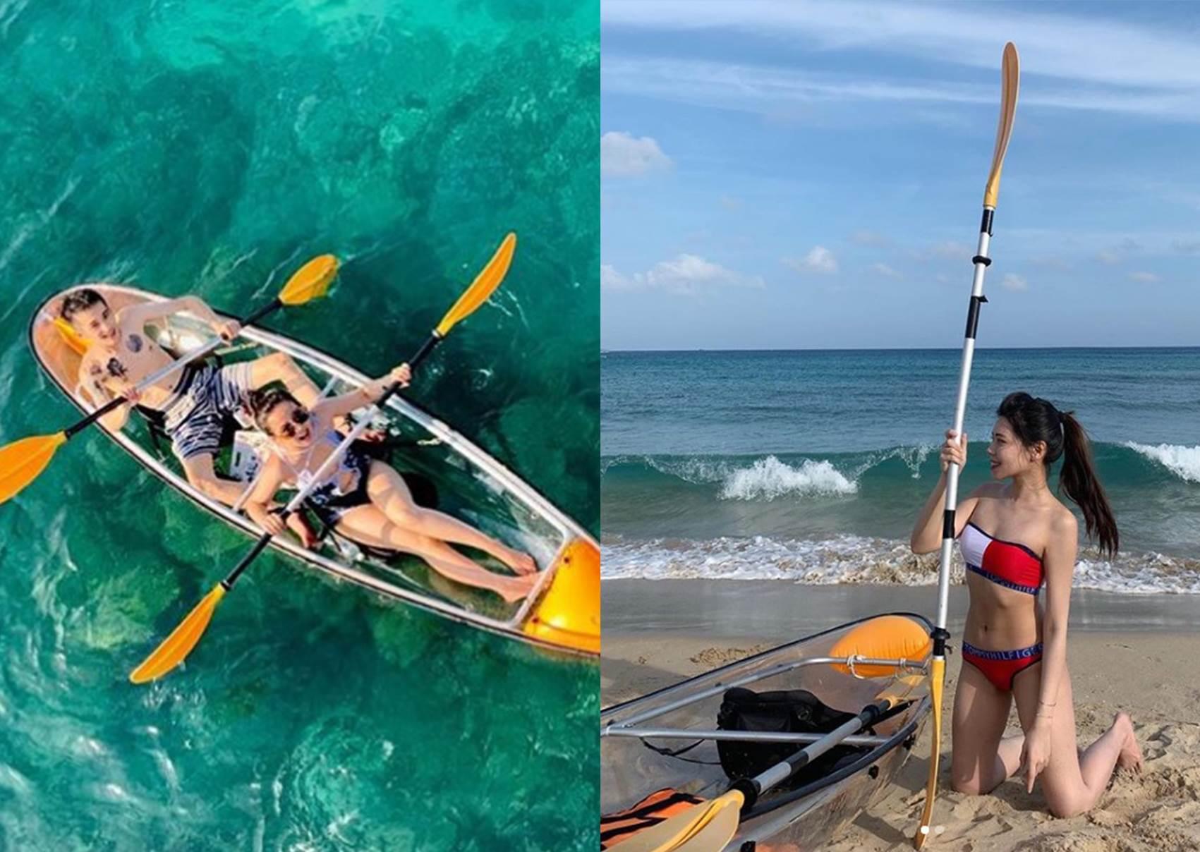 不用練功就能水上飄!國外「超夢幻透明獨木舟」台灣就能玩!現場看小丑魚在珊瑚礁戲水!