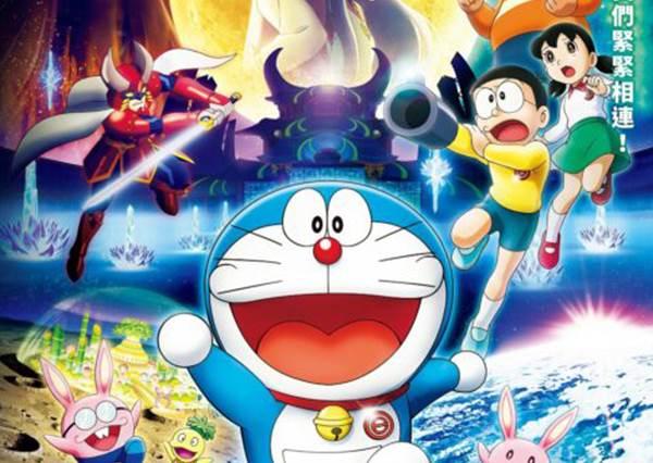 日本話題海報感人無比!電影《哆啦A夢:大雄的月球探測記》 台灣7月26日上映
