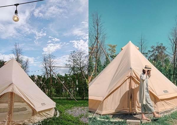 免搭帳篷免生火!根本是為懶人量身打造的露營小天地,還可以泡澡也太豪華了吧~