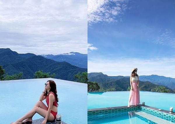 整片山景讓妳看好看滿!特搜南投超好拍的高空無邊際泳池,不說還以為飛去國外度假呢
