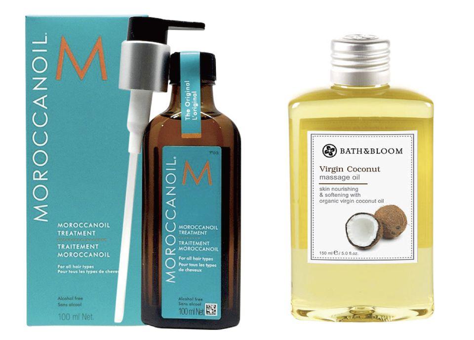 加碼養髮油推薦>>摩洛哥阿甘油&椰油