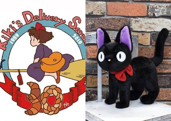 宮崎駿魔女宅急便30週年 限量黑貓吉吉等你認養!