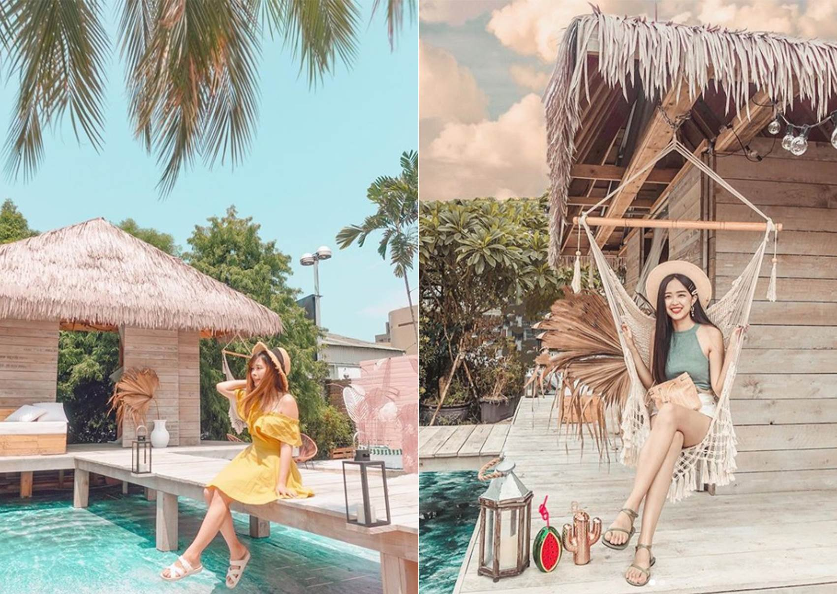 搭捷運到峇里島度假?台北特色咖啡廳打造「海上小木屋」,讓你一踏進店裡直接開啟度假模式!