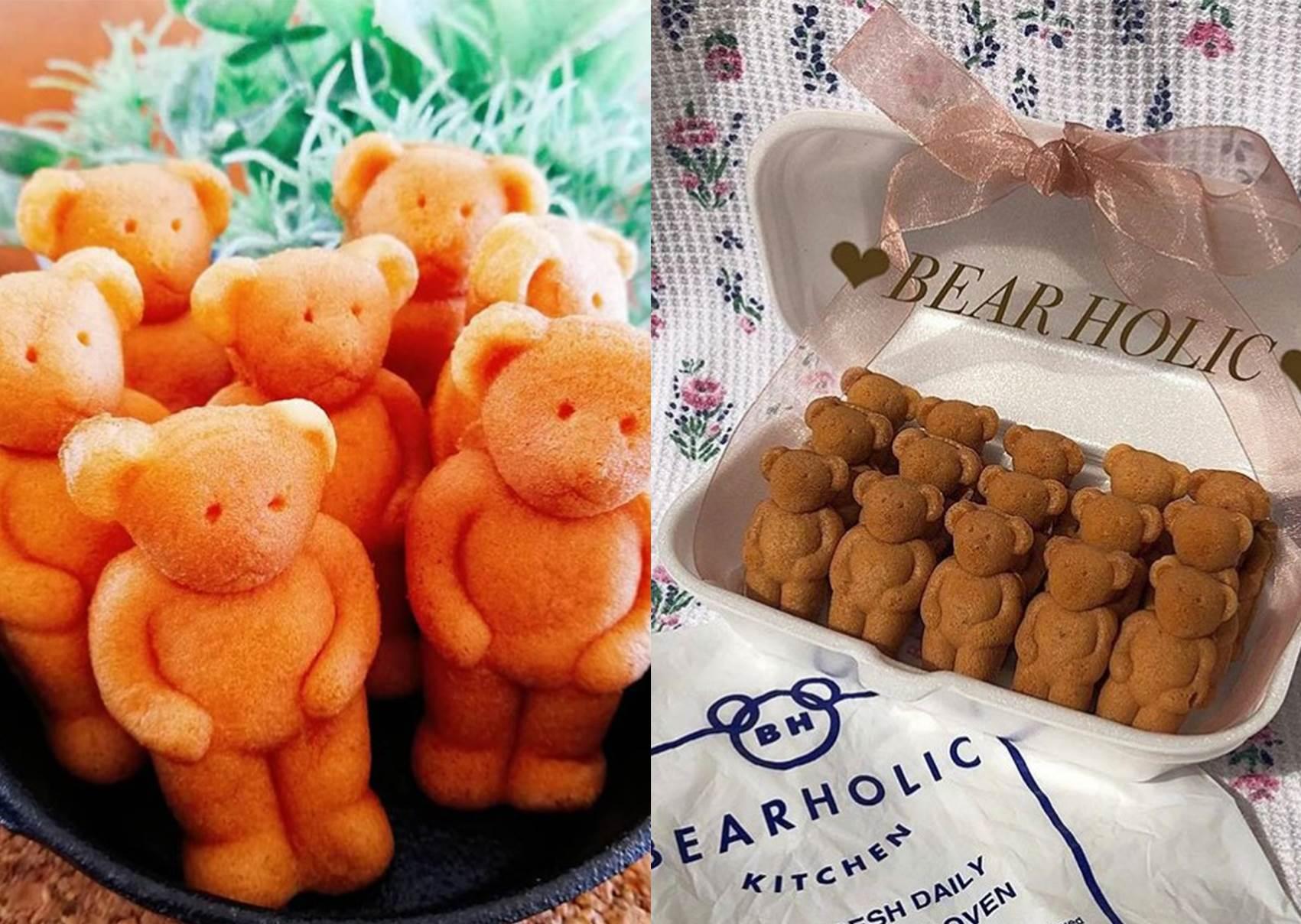 不用飛東京也能吃得到!超萌甜品「BEAR HOLIC熊燒」進駐台北,香濃小熊排排站讓人捨不得吃呀~