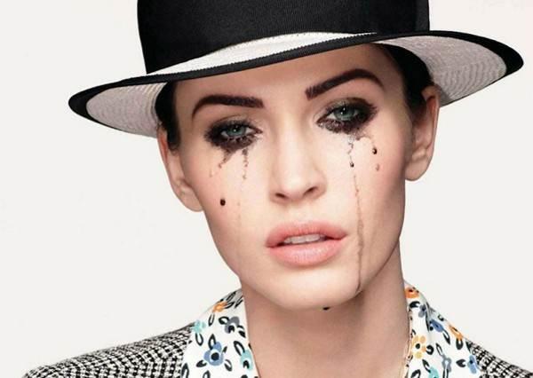 女星眼妝花了還是一樣美?!盤點5位眼妝暈開更有型的淚人兒