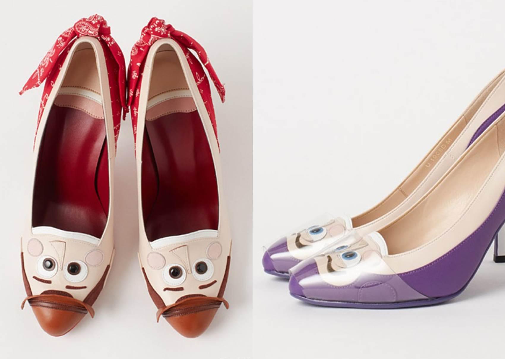 穿上秒變茉莉公主!DIANA聯名迪士尼推出「專屬設計鞋款」,這麼逗趣的高跟鞋妳敢穿出門嗎?