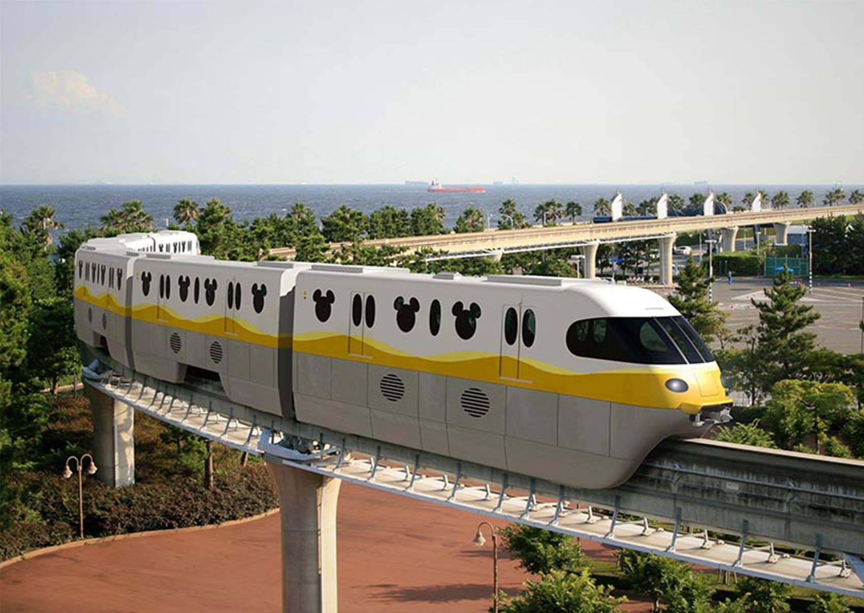 車窗、手拉環都是米奇!東京迪士尼2020推全新列車,趕快揪男友衝美女與野獸園區吧♥