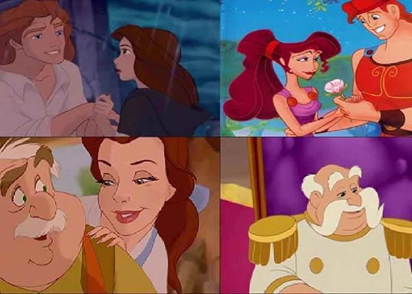 不只是明星越長越像,現在連迪士尼人物也開始撞臉了?