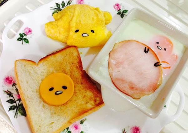 超簡單蛋黃哥早餐食譜,跟著做讓一整天都有好心情!