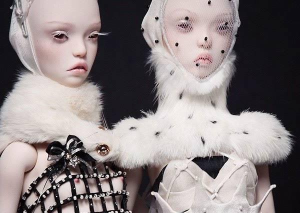 俄羅斯美女設計師,一手打造時尚娃娃Popovy Dolls