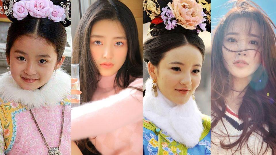 《步步驚心》承歡長大啦!9位清宮女神近照對比,玉檀新劇美到被熱議!
