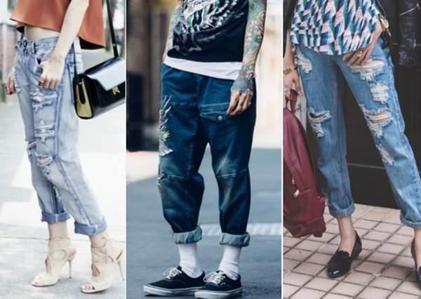 把媽媽不想穿的舊褲拿來!簡單3招變身最夯刷破男友褲