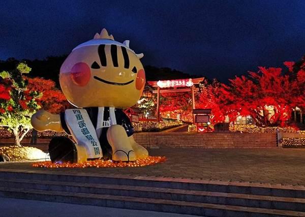 根本一秒置身日本!台灣四重溪公園溫泉季浪漫登場,還有一整片唯美楓葉紅燈海超好拍!