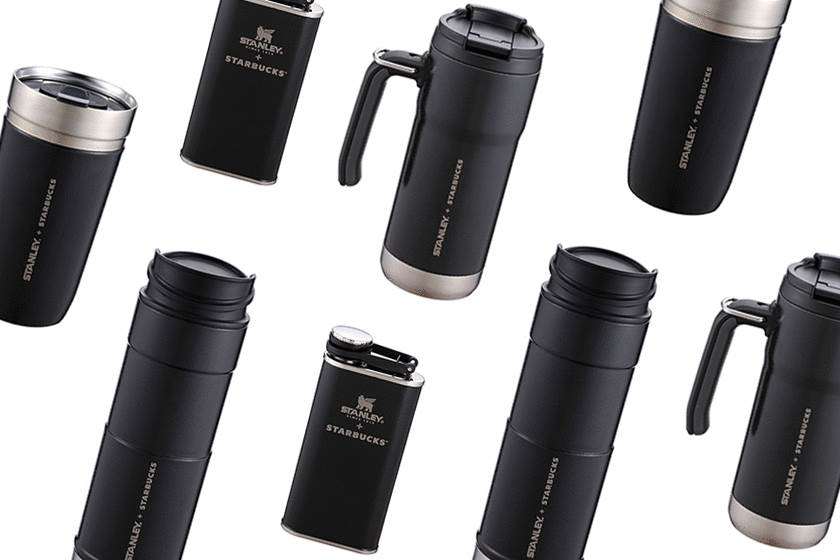 Starbucks 再度和 Stanley 合作隨身杯,這次是充滿神秘感的極簡黑色系!