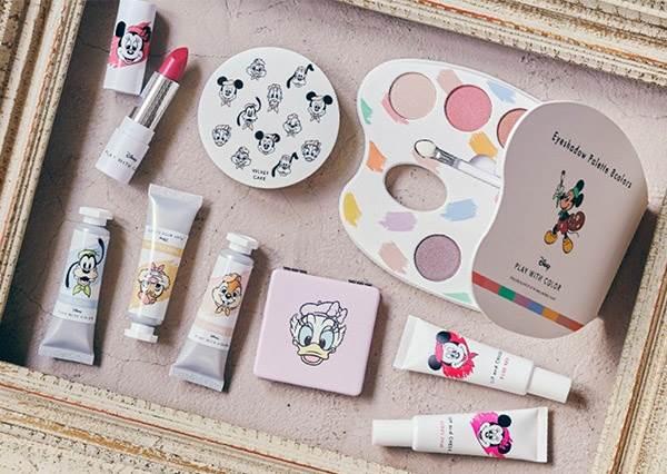 明天就用可愛化妝♡3款「迪士尼聯名彩妝」櫻花妹也搶著買,奇奇&蒂蒂眼影根本秋冬必備色