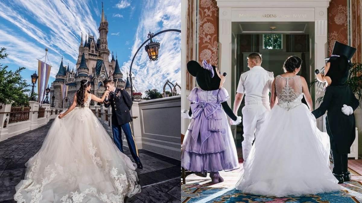 鐵粉注意!2020可以正式在「美國迪士尼4大樂園舉辦夢想婚禮」了!還能指定小時候的偶像牽你走進禮堂
