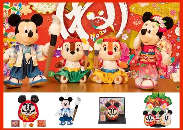 2020年東京迪士尼度新年商品登場 米奇米妮陪你作個美好初夢