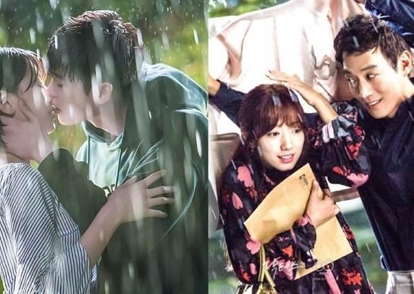 8部韓劇浪漫「雨中吻」