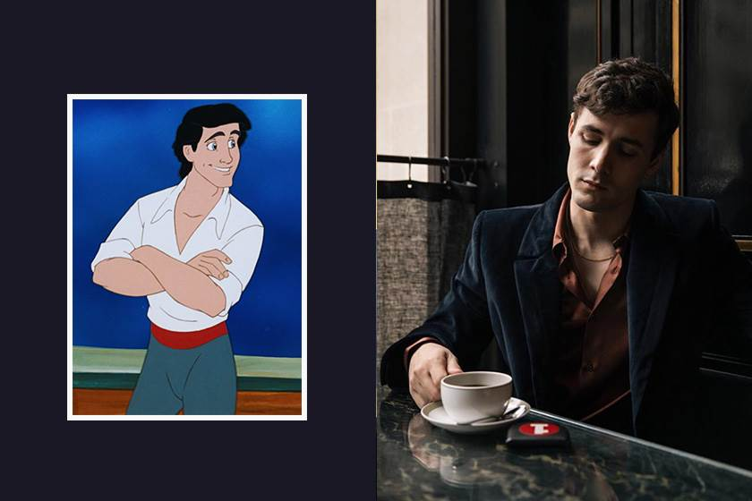 繼女主角確定後,《小魚仙》正式宣佈男主角 Prince Eric 將由他擔任!