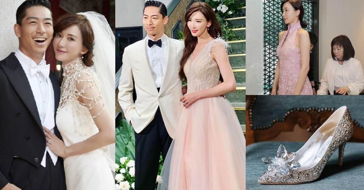 林志玲根本是童話走出來公主無誤!世紀婚禮行頭不忘愛台灣,白紗、婚戒、禮服、婚鞋大公開