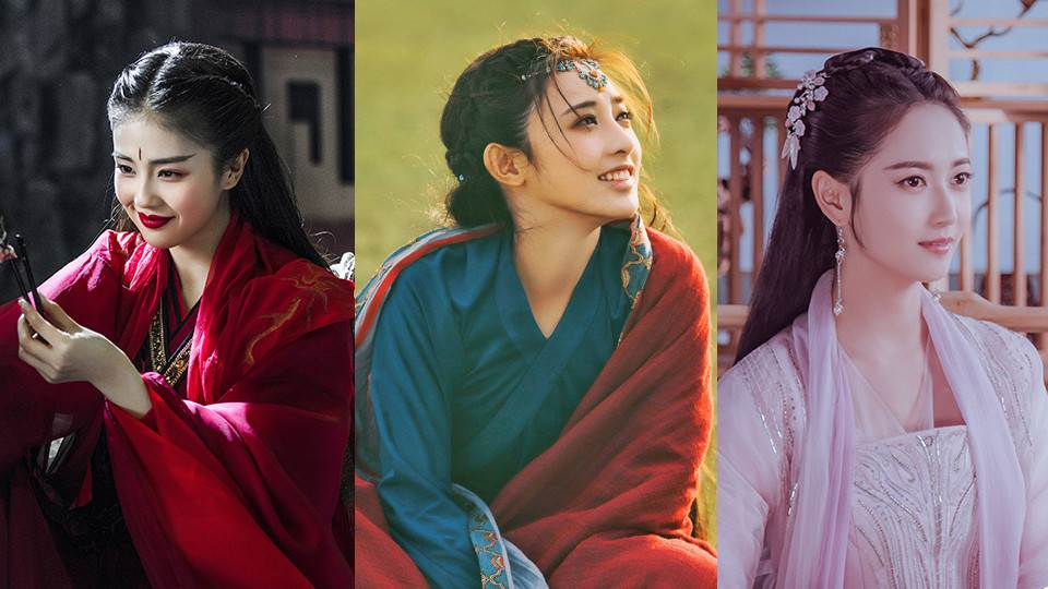 終於不再是楊冪、趙麗穎!「2019古裝劇10位女神新面孔」,最美的還是《東宮》彭小苒!