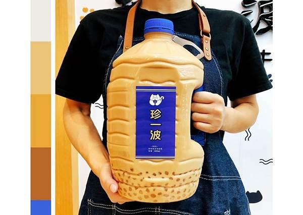 台灣也喝得到巨無霸珍奶!「5公升珍珠奶茶」每天限量10桶,你敢挑戰30分鐘內喝完嗎?