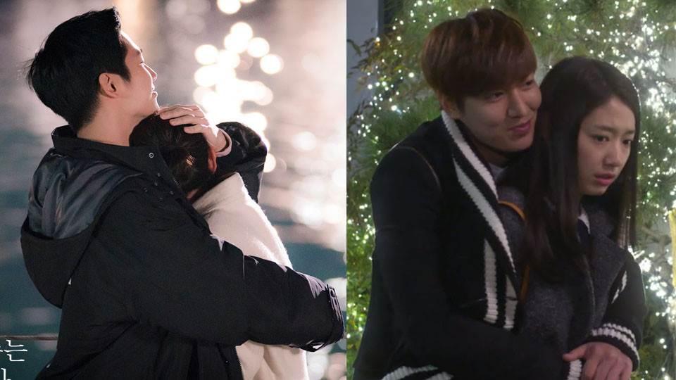 冬天用這招瞬間心臟爆擊!5部韓劇經典「大衣抱」,池昌旭、李敏鎬牢牢圈住女主角太甜!